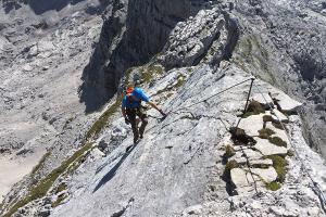 Klettersteig Zahme Gams : Die schönsten klettersteige für einsteiger fräulein flora